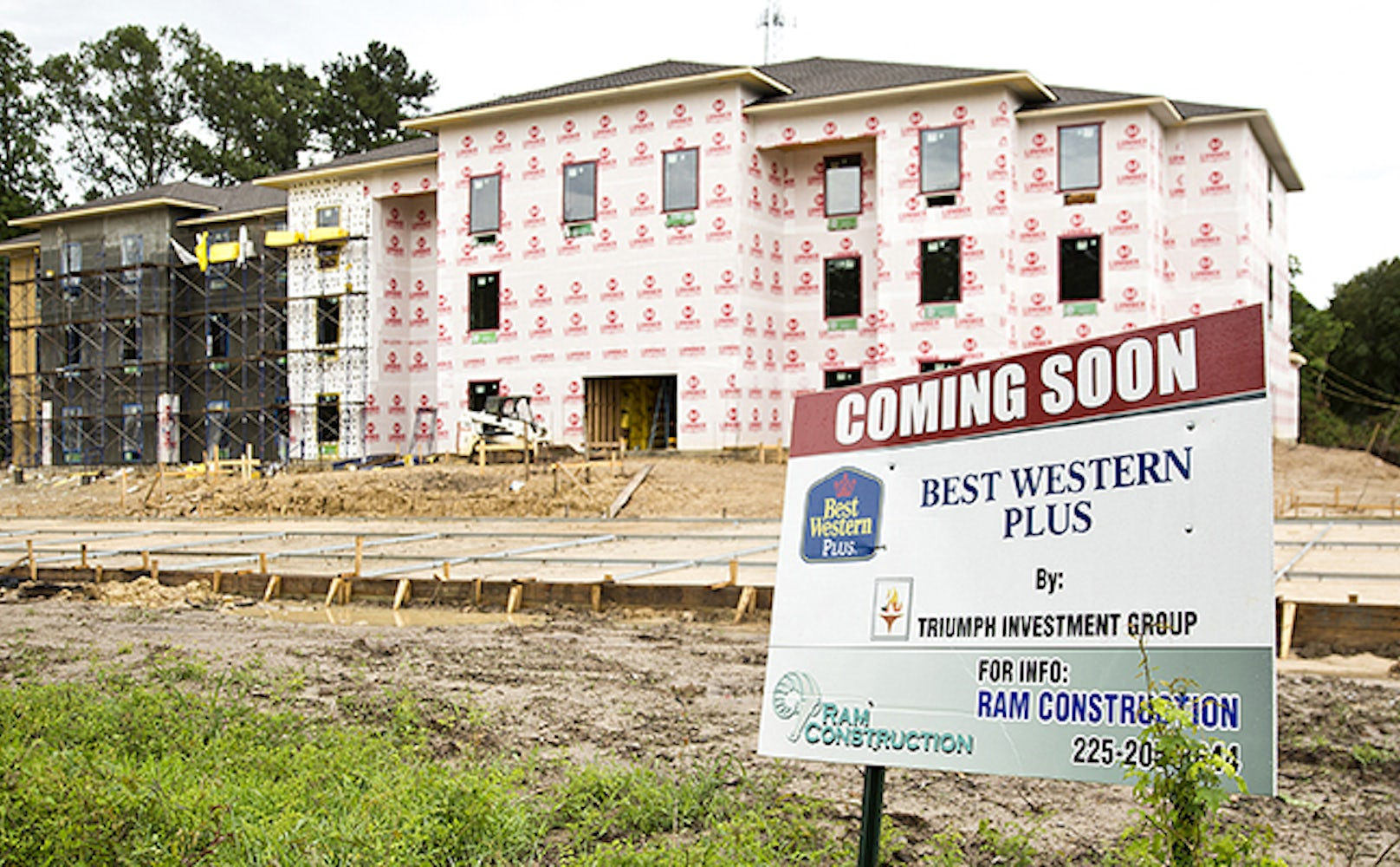 Livingston parish has 11 hotels with more on the way can the market photography by brian baiamonte a best western plus under construction in walker malvernweather Images