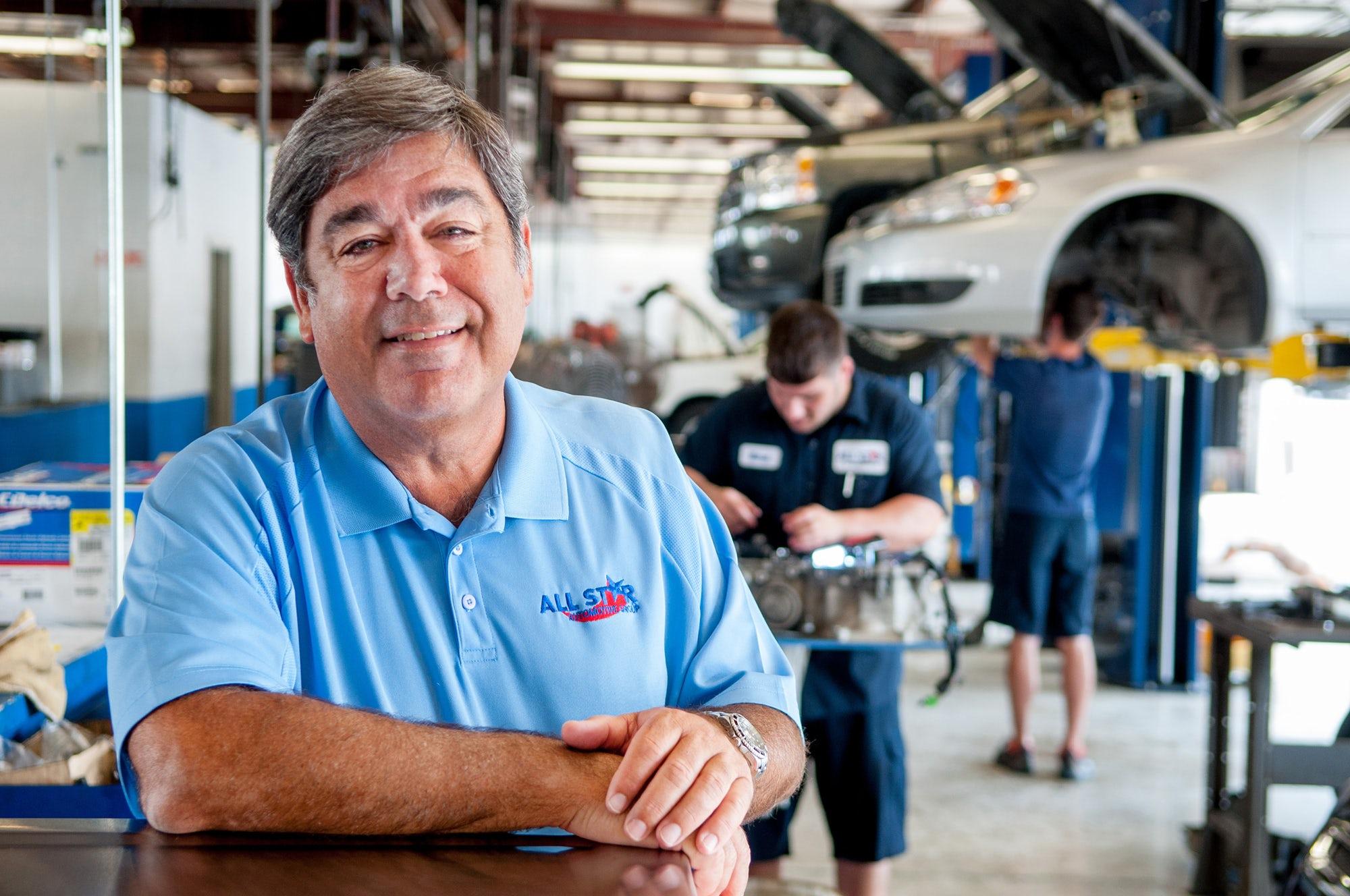 all star automotive group head matt mckay recalls the best advice