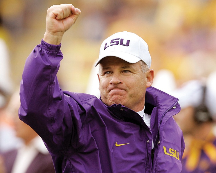 Kirby Smart voices respect for ousted LSU coach Les Miles