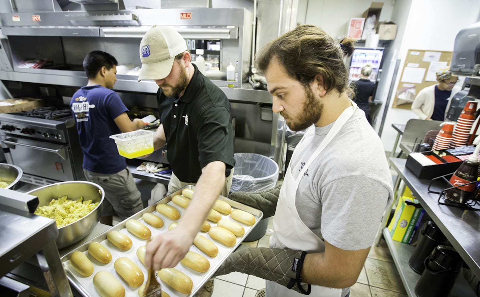 Take a look at a day in the life at The Kolache Kitchen - Baton ...