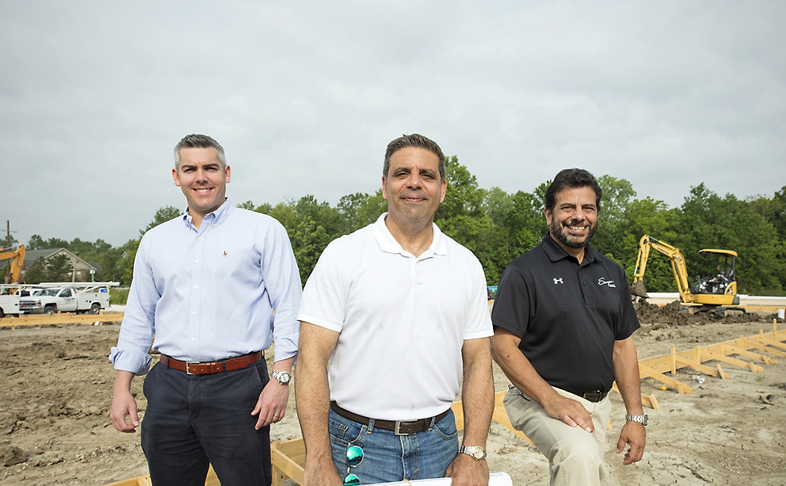 Its no mirage the oasis is finally coming to fruition as baton business partners matt noel from left chris shaheen and sammy nagem have finally broken ground on the oasis an entertainment complex that will feature a malvernweather Image collections