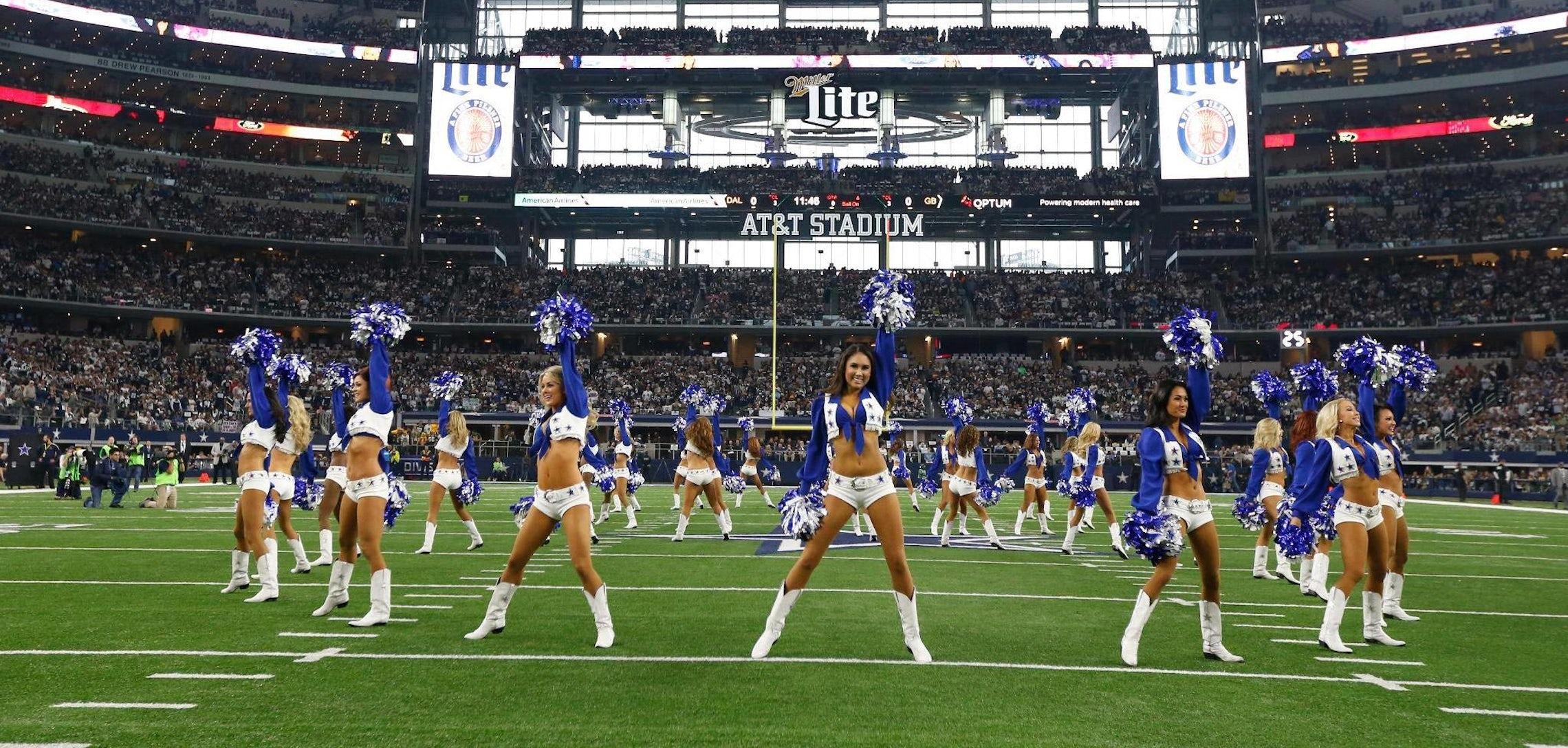 dallas cowboys cheerleaders new squad