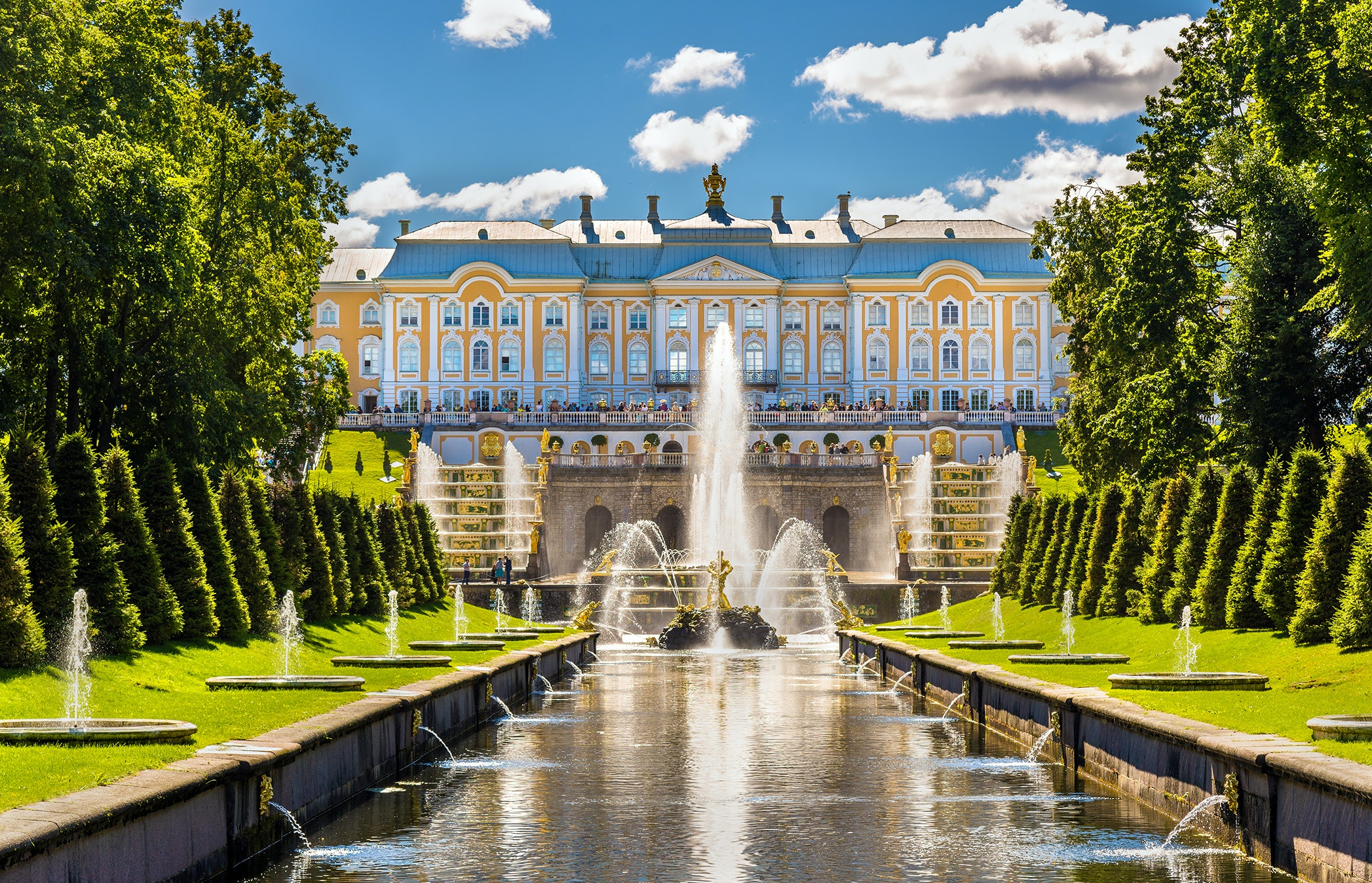 Peterhof: how to get there Choose a route
