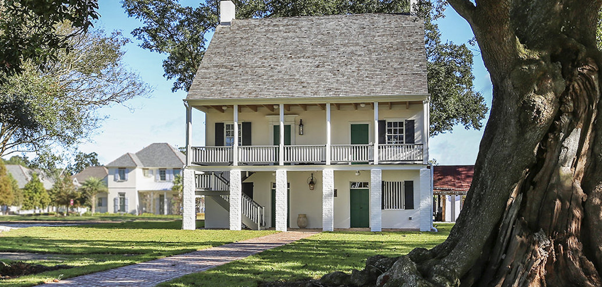 Restoring A Landmark The Kleinpeter House At The Settlement At