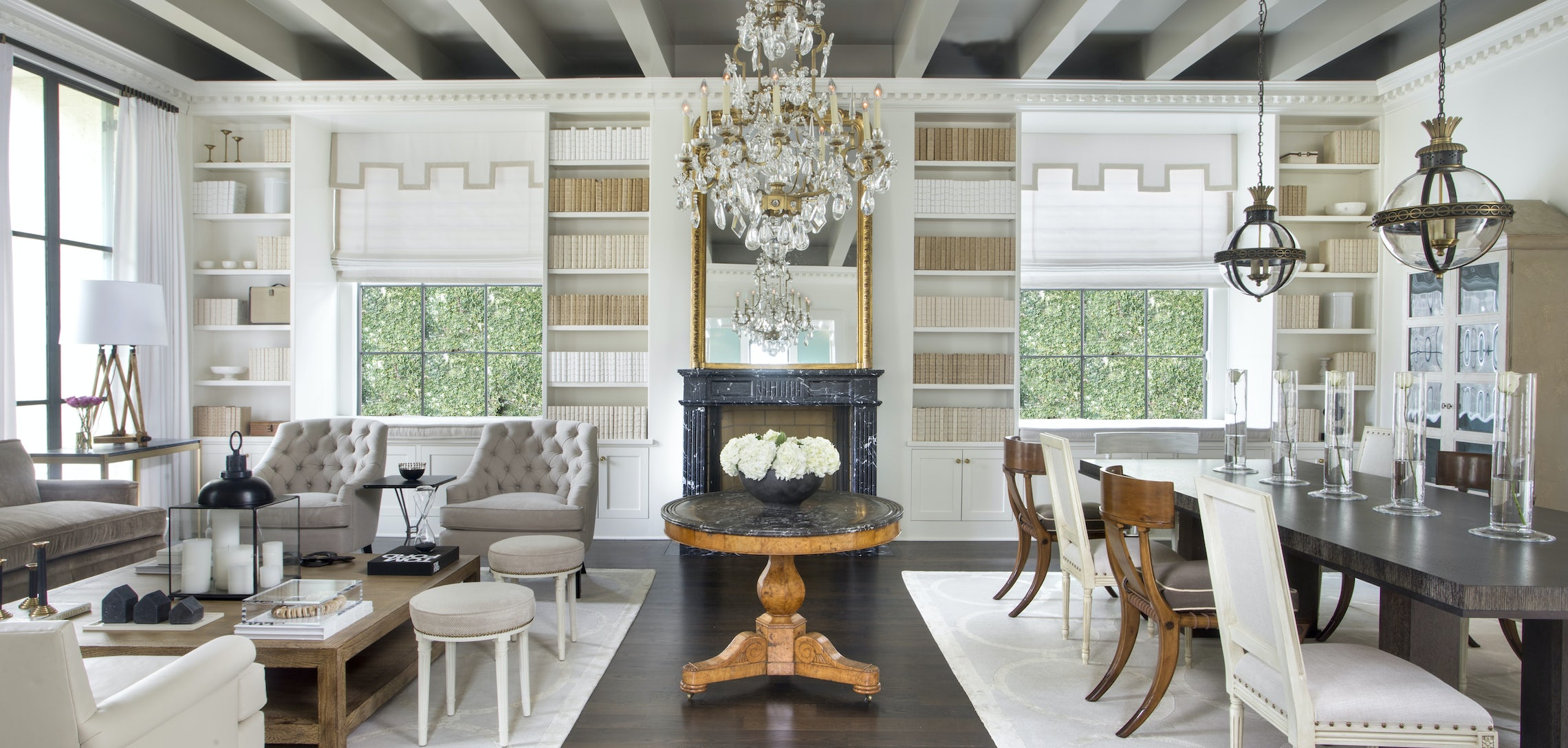French twist: A new Texas home features a modern twist on New ...